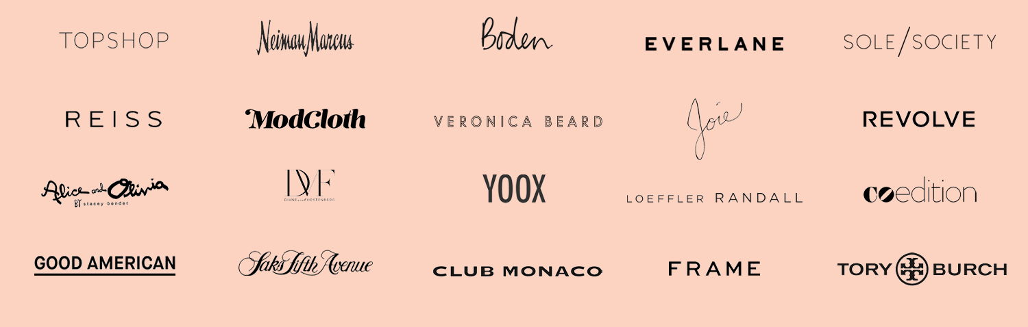 Hundreds of brands, curated just for you.